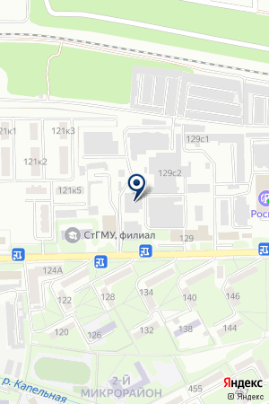 ПКФ ВИНОГРАДАРЬ на карте Пятигорска