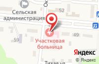 Схема проезда до компании Участковая больница в Прикумском