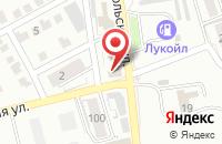 Схема проезда до компании Меридиан КМВ в Ессентуках