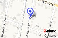 Схема проезда до компании ЖЕЛЕЗНОДОРОЖНАЯ СТАНЦИЯ АТОВО в Ипатове