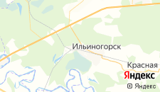 Гостиницы города Ильино на карте