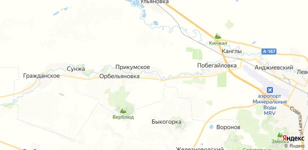 Дунаевка на карте
