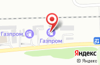Схема проезда до компании Газпром в Ессентуках