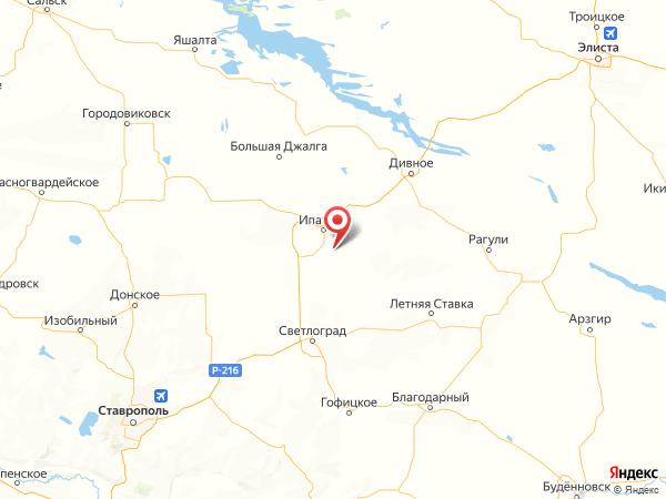 хутор Мелиорация на карте