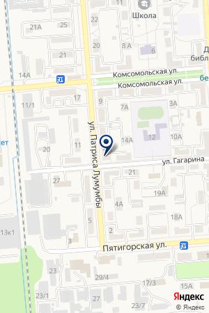 ЖКХ УЧАСТОК ЭЛЕКТРОСЕТЕЙ на карте Лермонтова