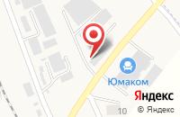Схема проезда до компании Декна-Пятигорск в Винсадах