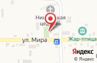 Схема проезда до компании Почтовое отделение в Садовом