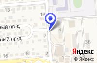 Схема проезда до компании НОТАРИУС ХВОЙНОВА Л.Ш. в Лермонтове