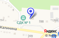 Схема проезда до компании СЕЛЬСКОХОЗЯЙСТВЕННОЕ ПРЕДПРИЯТИЕ КОЛОС в Александровском