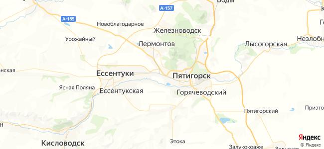 Кисловодск - Минеральные Воды электричка в Минеральных Водах