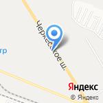 Кинпласт на карте Пятигорска (КМВ)