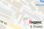 Схема проезда до компании Мир дерева в Пятигорске