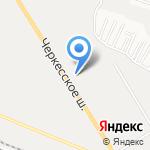 Dятьково на карте Пятигорска (КМВ)