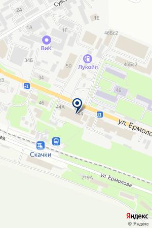 МАГАЗИН СВЕТ + на карте Пятигорска