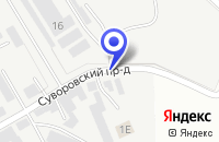 Схема проезда до компании ТФ ТЕХНИК в Пятигорске