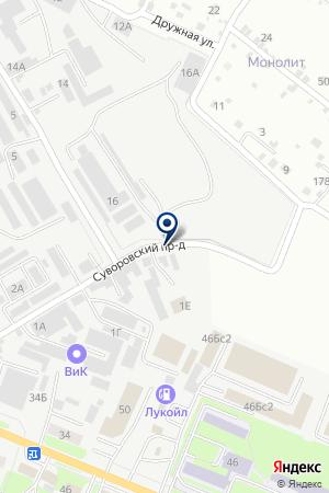 ТФ МЕЙБАТОВ А.А. на карте Пятигорска