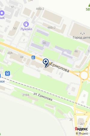 МАГАЗИН ХОЗТОВАРОВ БИТ на карте Пятигорска