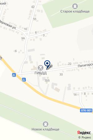 СТО на карте Пятигорска