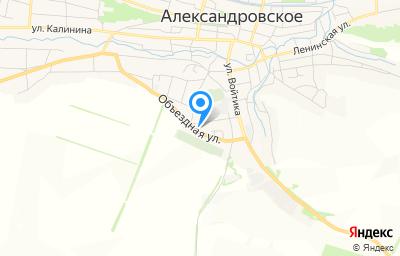Местоположение на карте пункта техосмотра по адресу Ставропольский край, с Александровское, ул Пятигорская, д 35Б