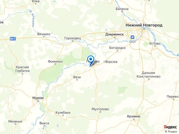деревня Крюки на карте