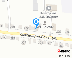Схема местоположения почтового отделения 356302