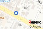 Схема проезда до компании Вираж в Железноводске