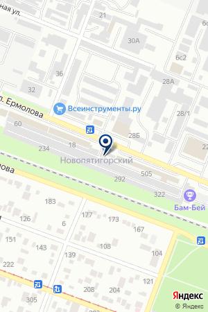 ТФ БАС-СИСТЕМА на карте Пятигорска