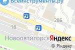 Схема проезда до компании ПромТоргЦентр в Пятигорске