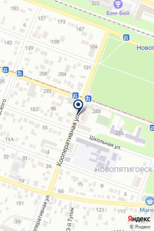 УПМ УПРАВЛЕНИЕ ВНУТРЕННИХ ДЕЛ (УВД) Г. ПЯТИГОРСКА на карте Пятигорска
