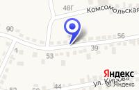 Схема проезда до компании СЕРВИСНОЕ ПРЕДПРИЯТИЕ ТЕПЛОСЕТЬ в Александровском