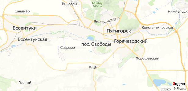 Новая Пролетарка на карте