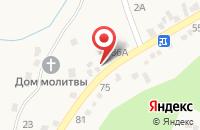 Схема проезда до компании Гламур в Юцах
