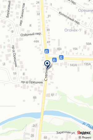 МАГАЗИН ДВЕРЕЙ ПРОКОПИШИНА Т.М. на карте Пятигорска