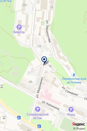 МУП РЕДАКЦИЯ ГАЗЕТЫ КУРОРТНЫЙ КРАЙ на карте Железноводска