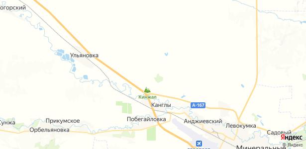 Кумагорск на карте