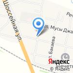 Почтовое отделение №23 на карте Пятигорска (КМВ)