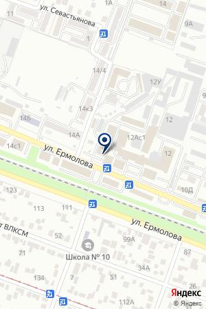 МАГАЗИН СВЕТИЛЬНИКОВ АБАЖУР на карте Пятигорска