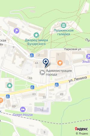 ЖЕЛЕЗНОВОДСКИЙ ЛИЦЕЙ № 2 на карте Железноводска