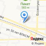 URentCar.ru на карте Пятигорска (КМВ)