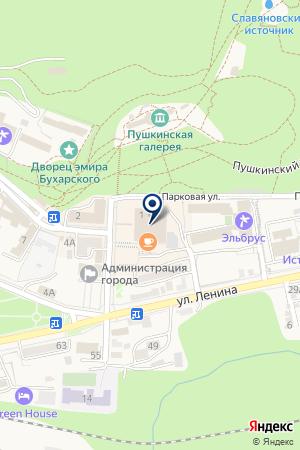 ЖЕЛЕЗНОВОДСКАЯ ХУДОЖЕСТВЕННАЯ ШКОЛА на карте Железноводска