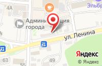 Схема проезда до компании Дары Кавказа в Железноводске