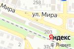 Схема проезда до компании Веселая карусель в Пятигорске