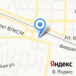 Chik_Chik на карте Пятигорска (КМВ)
