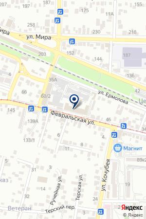 ЗАКУСОЧНАЯ САЙГОН на карте Пятигорска