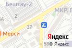 Схема проезда до компании Понтос в Пятигорске