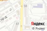 Схема проезда до компании Радуга в Пятигорске