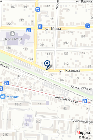 АГЕНТСТВО НЕДВИЖИМОСТИ ВАРИАНТ на карте Пятигорска