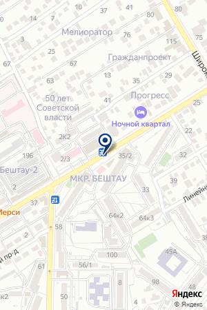САЛОН КРАСОТЫ МЕЧТА на карте Пятигорска