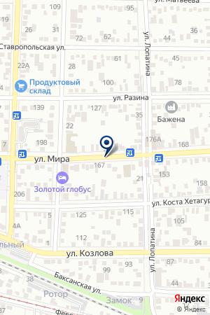 МУП ЖКХ ДИСПЕТЧЕРСКАЯ на карте Пятигорска