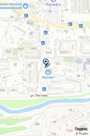 РЕКЛАМНОЕ АГЕНТСТВО ВСЕ ДЛЯ РЕКЛАМЫ на карте Пятигорска